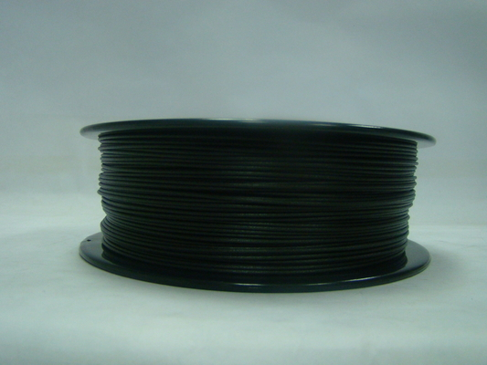 China 3D Printer PETG-Koolstof Vezel 1.75MM/3.0MM Gloeidraad Zwarte Hoogte Thoughness leverancier